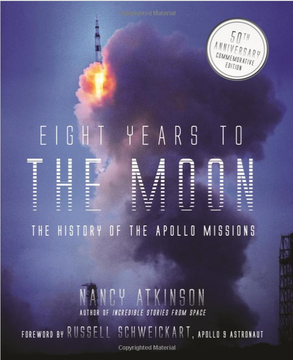 Figure 1. This recently published book provides additional perspectives on the Apollo program and people, and has many fabulous, fully captioned photos.</strong> Image source: Amazon.