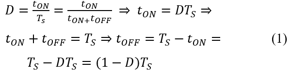 duty cycle equation