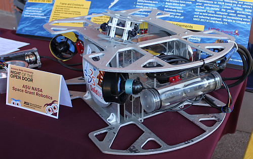 The ASUB underwater robot