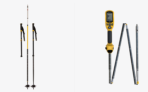 The Snowpack structure able to connect from ski pole directly to user smartphone. (Source: mountain hub.com)