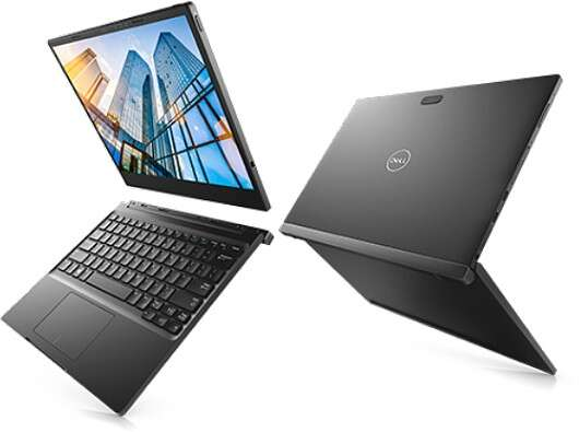 The Dell Latitude 7285 2-in-1 now has an optional Wireless Charging Mat #PM30W171 and a Dell Latitude Wireless Keyboard (Image courtesy of Dell)