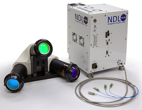 The Navigation Doppler LIDAR System (NDL) (Image courtesy of NASA)