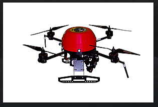 Leptron RDASS HD Unmanned Quadcopter (Image courtesy of Leptron)