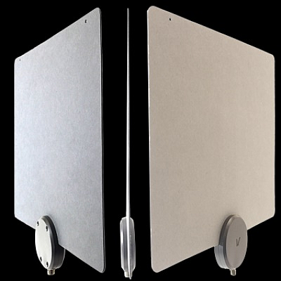 Today's OTA broadcast antennas, such as this ReLeaf 30 HDTV indoor antenna from Mohu with 30-mile (nominal) range are small (9 × 11.5 in/23 × 29 cm), lightweight, unobtrusive, and easily mounted to a wall; some also come with a preamplifier for improved performance. (Image: Mohu)
