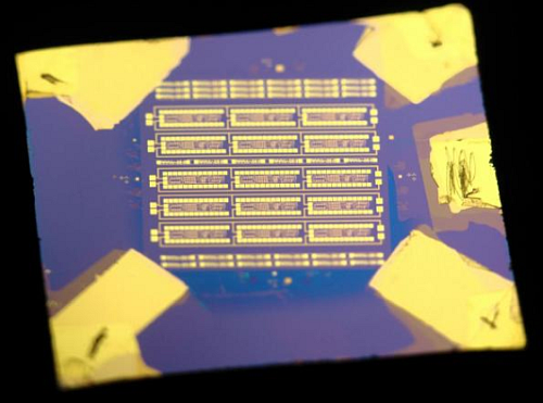 The MoS2 microprocessor opens the way to new applications of electronics  (Source: Graphene Flagship)