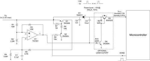 How to apply duty-cycle control to boost power from a single 1V cell.