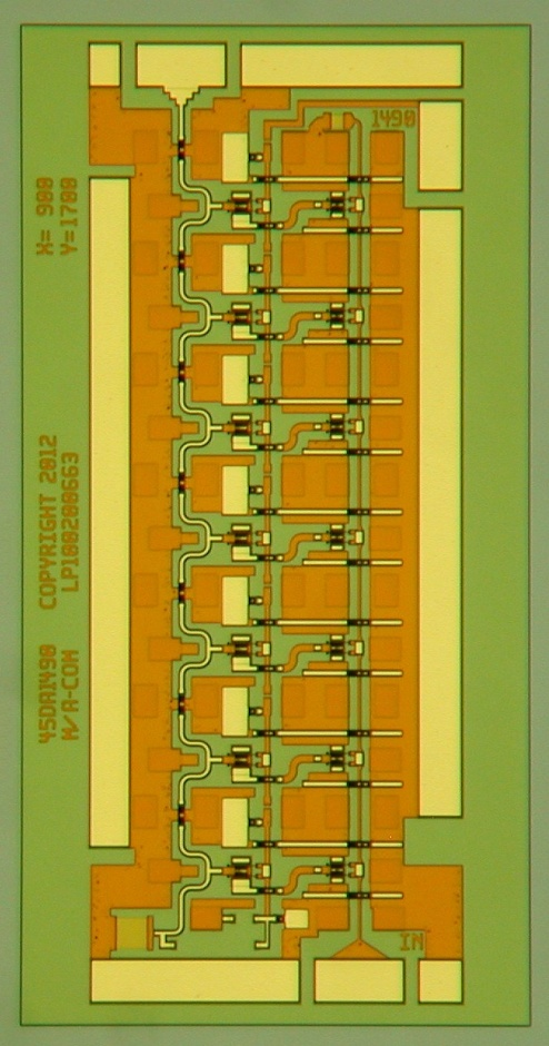 A complete DC to 67GHz amplifier