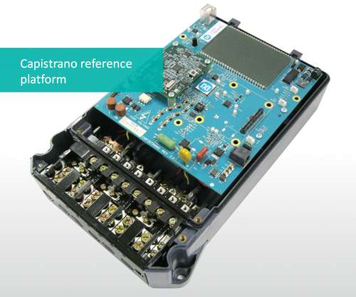 Maxim Integrated's Capistrano reference platform for smart metering.(Source: Maxim)