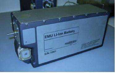Figure 1: NASA present-day battery used for Extravehicular Activity (EVA) spacewalk suits. (Source: NASA)