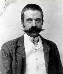 Stanford White was the American architect who designed Tesla's Wardenclyffe laboratory building. This was White's last creation before he was shot and killed by Harry Thaw, the husband of a former chorus girl named Evelyn Nesbit, apparently due to a suspected affair with White. (Image: Tesla Science Center and Tesla Wardenclyffe Project)