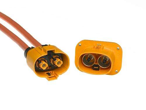 Imperium high-voltage high-current harness connector & header suitable for EV use (source: Molex)
