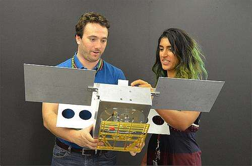 The CubeSat (Image Credit: NASA/JPL-Caltech)