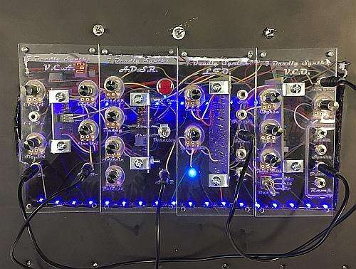 The University of Florida team's non-contact synthesizer shows some impressive patch-cord aspects.