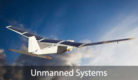 The solar cells powered UAV (Source: Alta Devices)