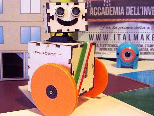The ItalRobot- A didactical project to teach young students the basics of mathematical and engineering science (Source: ansa)