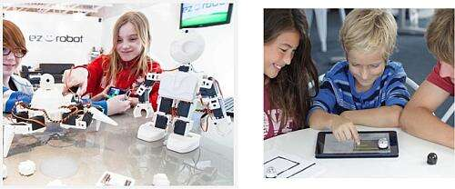 The Italmaker Show, a robotic contest for young students (Source: ITALMAKER)