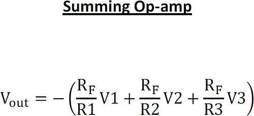 Summing Op-Amp