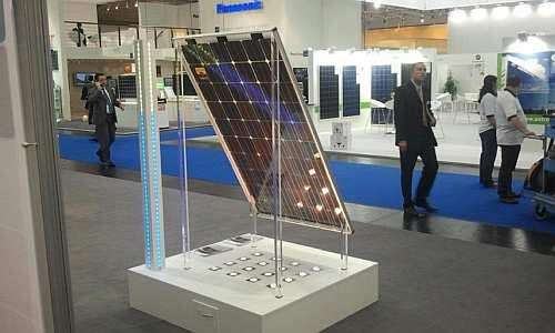 The 'bifacial' solar cell by the bSolar Company (Source: GIGAOM)