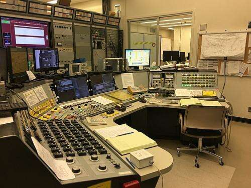 Cyclotron Control Room at the Cyclotron Institute at Texas A&M