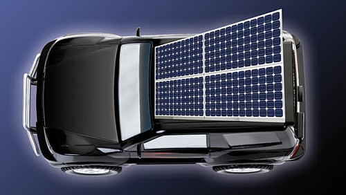 High efficiency solar cells to recharge electric vehicles while moving (Source: gizmag)