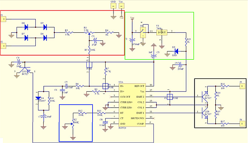 An electronic circuit that realizes the conversion from a DC voltage source to AC voltage by means of a Pulse Width Modulation (PWM) integrated circuit (Source: New Mexico Tech)