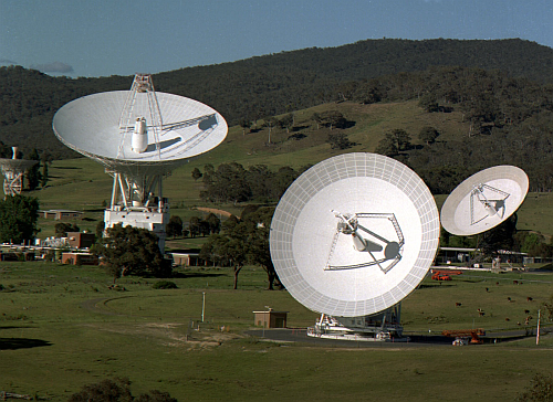 Dish Antenna Image courtesy of NASA