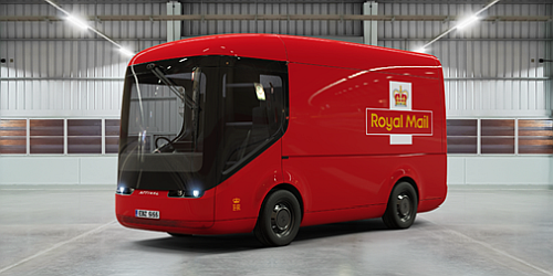 The electric bus made by Arrival Company for zero emission postal transportation, holds promises to become widely adopted in all big urban areas to reduce air pollution. > (Source: 'electreck'.)