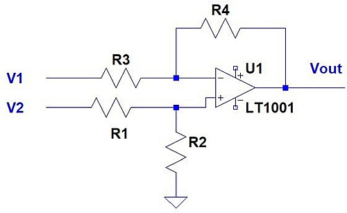 Difference Amplifier