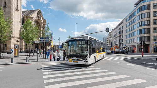 The electric bus solution realized in Luxembourg by the Volvo Buses Company