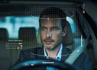 eyeSight's sensing solutions for real time scanning of the eye of the driver to enhance his comfort and safety (Source: eyeSight/Automotive)