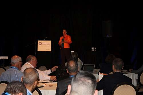 Cynthia Wright, Principal Cyber Security Engineer, MITRE Corporation (Image courtesy of Loretta Taranovich)
