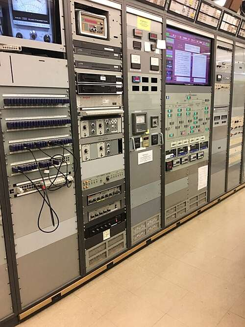 Cyclotron Control Room - System Monitors