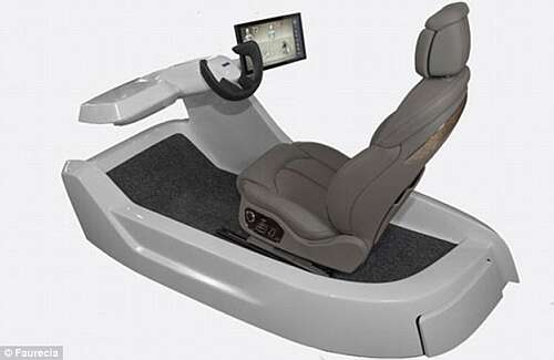 The Active Wellness Seat may be introduced on car starting from 2020 (Source: Daily Mail.com)