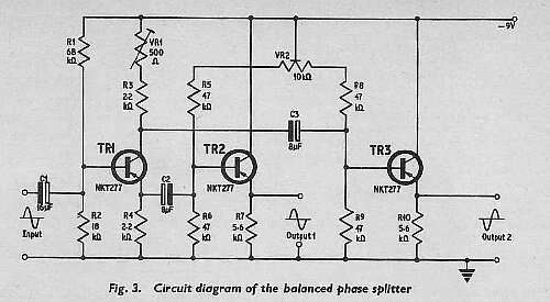 Figure 1 (not fig. 3!) - the original circuit from 'Practical Electronics' magazine.