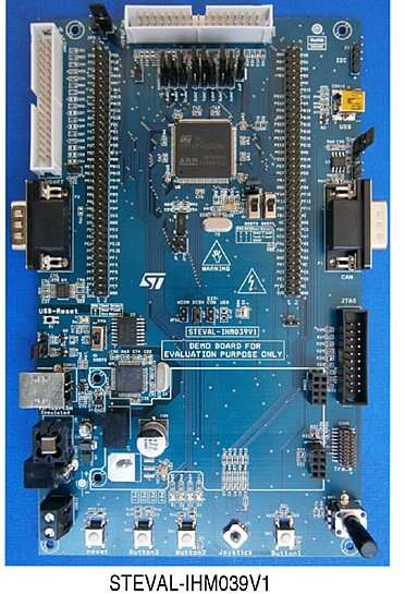 The STEVAL-IHM039V1 a demonstration board for Telehealth monitoring applications by the STMicroelectronics Company (Source: STMicroelectronics)