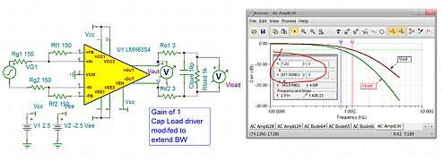 Click here for larger image  Bandwidth extended cap load driver