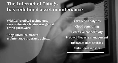 The asset maintenance is being redefined nowadays by the IoT technology