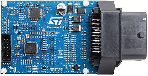 SPC5-L9177A-K02 Small Engine EFI (Electronic Fuel Injection) Reference Design for SPC572L MCU and L9177A Driver (Image courtesy of ST Microelectronics)